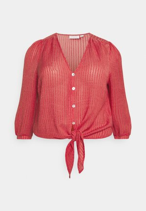 CAREMMA KNOT TOP - Bluser - mineral red