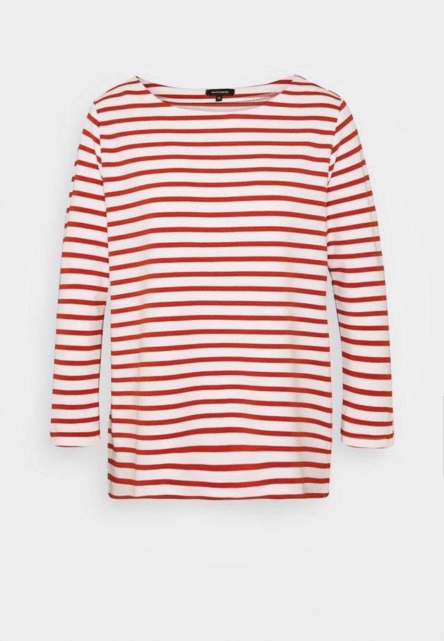 SLEEVE - T-shirt à manches longues - terracotta