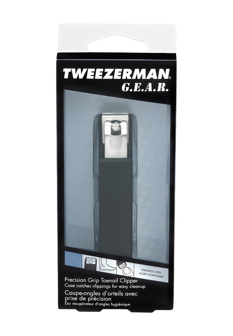 Tweezerman GEAR PRECISION GRIP TOENAIL CLIPPER - Nail tool - - 3vgae