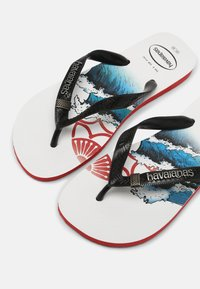 Havaianas - TRIBO UNISEX - Pool shoes - ruby red - 6