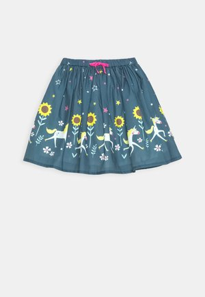 TWIRLY DREAM SKIRT - Jupe trapèze - steely blue
