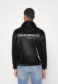 Emporio Armani - BLOUSON JACKET - Lehká bunda - black - 2