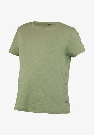 T-shirt basic - oil green