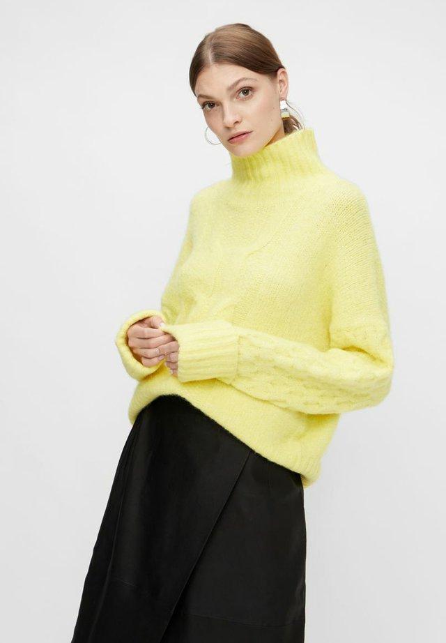 Jersey de punto - canary yellow