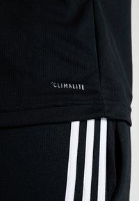 adidas Performance - Sports shirt - black - 4