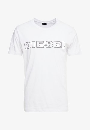 UMLT-JAKE - Print T-shirt - white