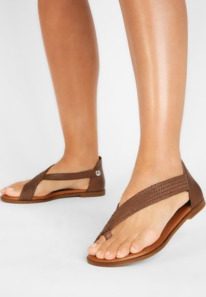 Teensandalen - brown brn