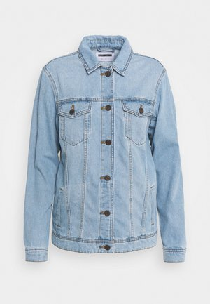NMOLE JACKET - Džínová bunda - light blue denim