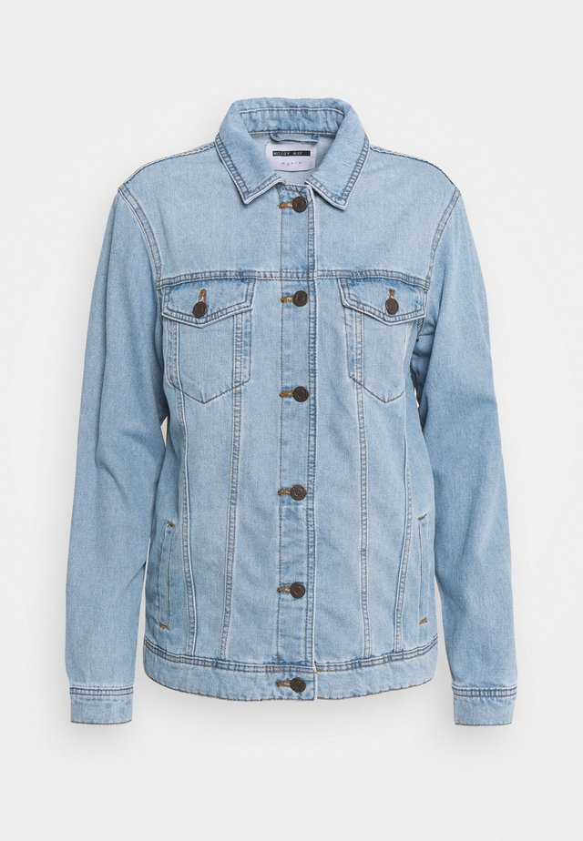 NMOLE JACKET - Farkkutakki - light blue denim
