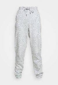 bright white/slate grey