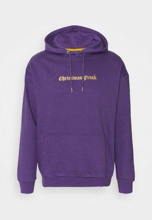 UNISEX - Felpa con cappuccio - purple