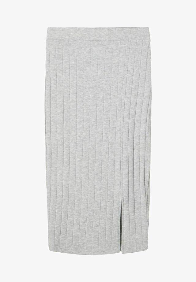 Pennkjol - light grey melange