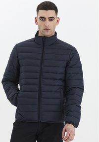 Solid - Light jacket - insignia blue - 0