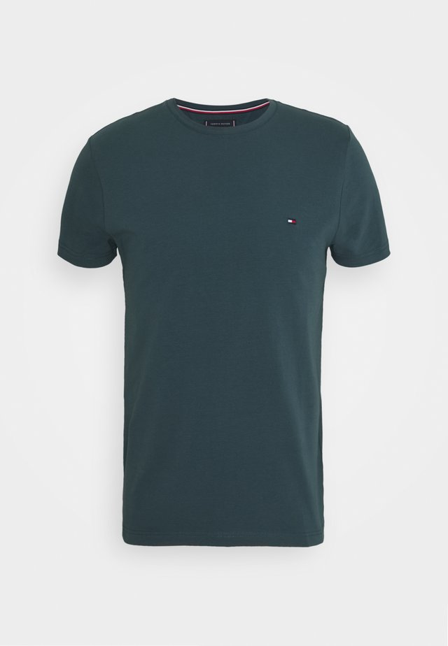 SLIM FIT TEE - T-shirt con stampa - mystic lake
