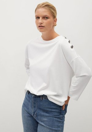 CAMIBU - Long sleeved top - off white