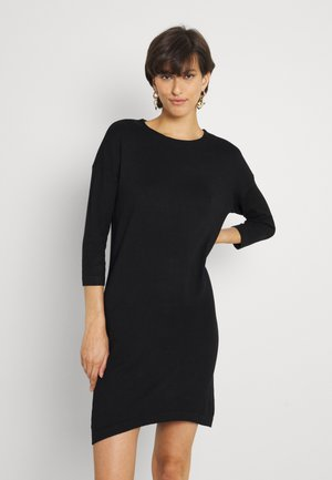 VMGLORY AURORA 3/4 DRESS - Jumper dress - black