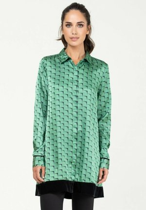 Overhemdblouse - verde