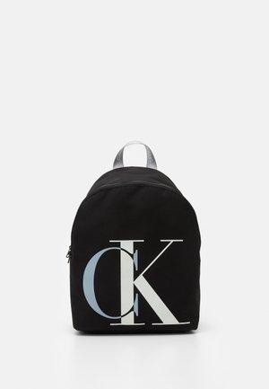 EXPLODED MONOGRAM BACKPACK - Rygsække - black