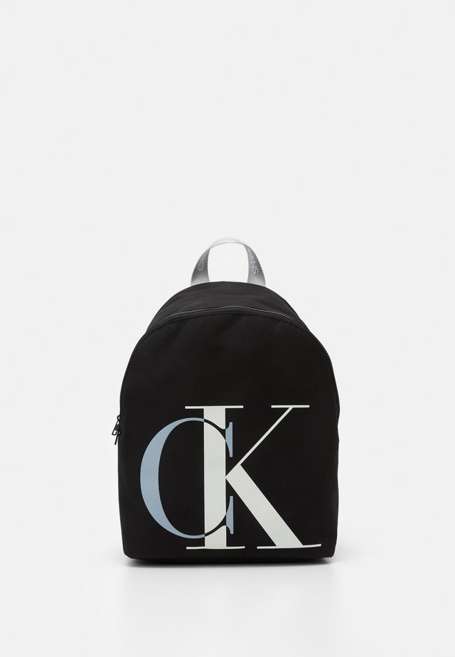 EXPLODED MONOGRAM BACKPACK - Mochila - black