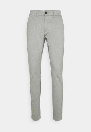 PONTE ROMA PLAIN - Trousers - medium grey melange