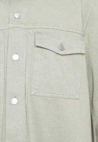 Weekday - CEDOR JACKET - Jeansjakke - soft grass - 3