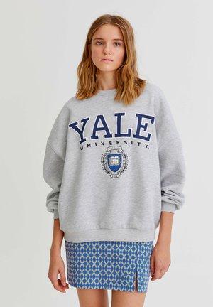 """""""YALE"""" IM COLLEGE-STIL - Sweatshirt - grey"""