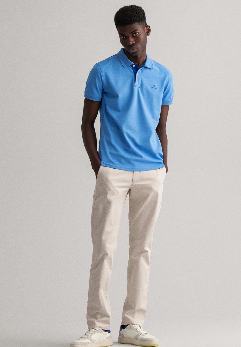 GANT - RUGGER - Polo shirt - stoned blue