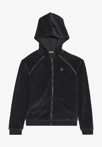 Benetton - JACKET HOOD - Mikina na zip - grey - 3