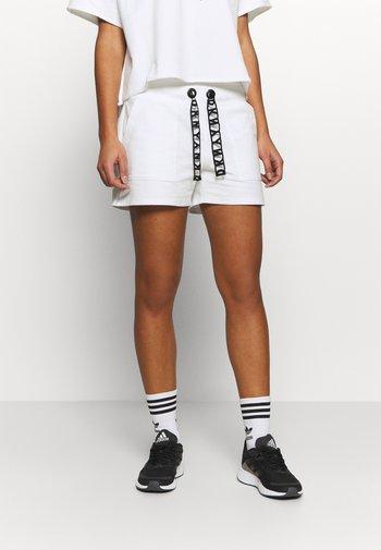 SHORT LOGO DRAWCORD - Sports shorts - white