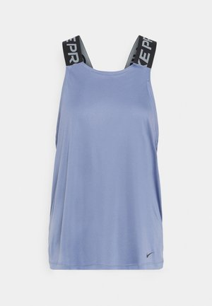 DRY ELASTIKA TANK - Sports shirt - world indigo/black