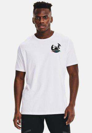 GYM  - Print T-shirt - white