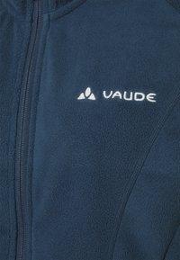 Vaude - ROSEMOOR HOODED JACKET - Giacca in pile - steelblue - 2