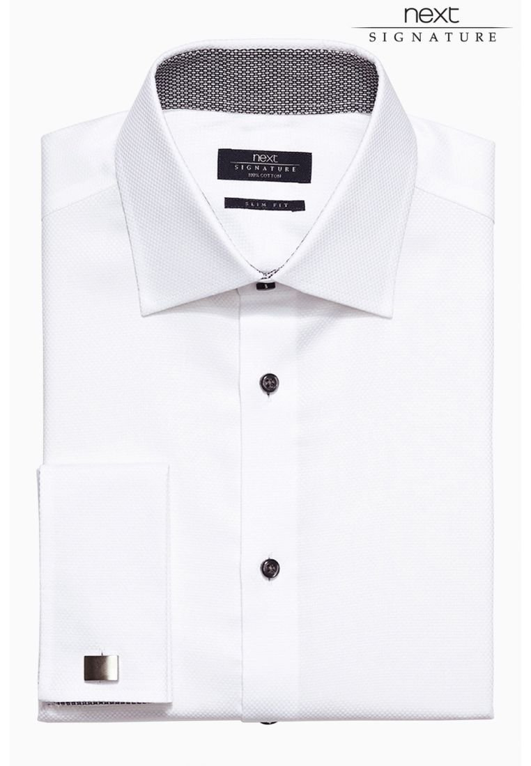 Herren SIGNATURE WEAVE SHIRT - Businesshemd