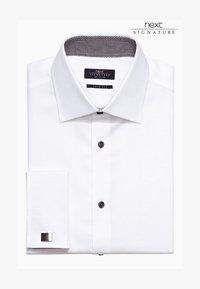 Next - SIGNATURE WEAVE SHIRT - Camicia elegante - white - 0