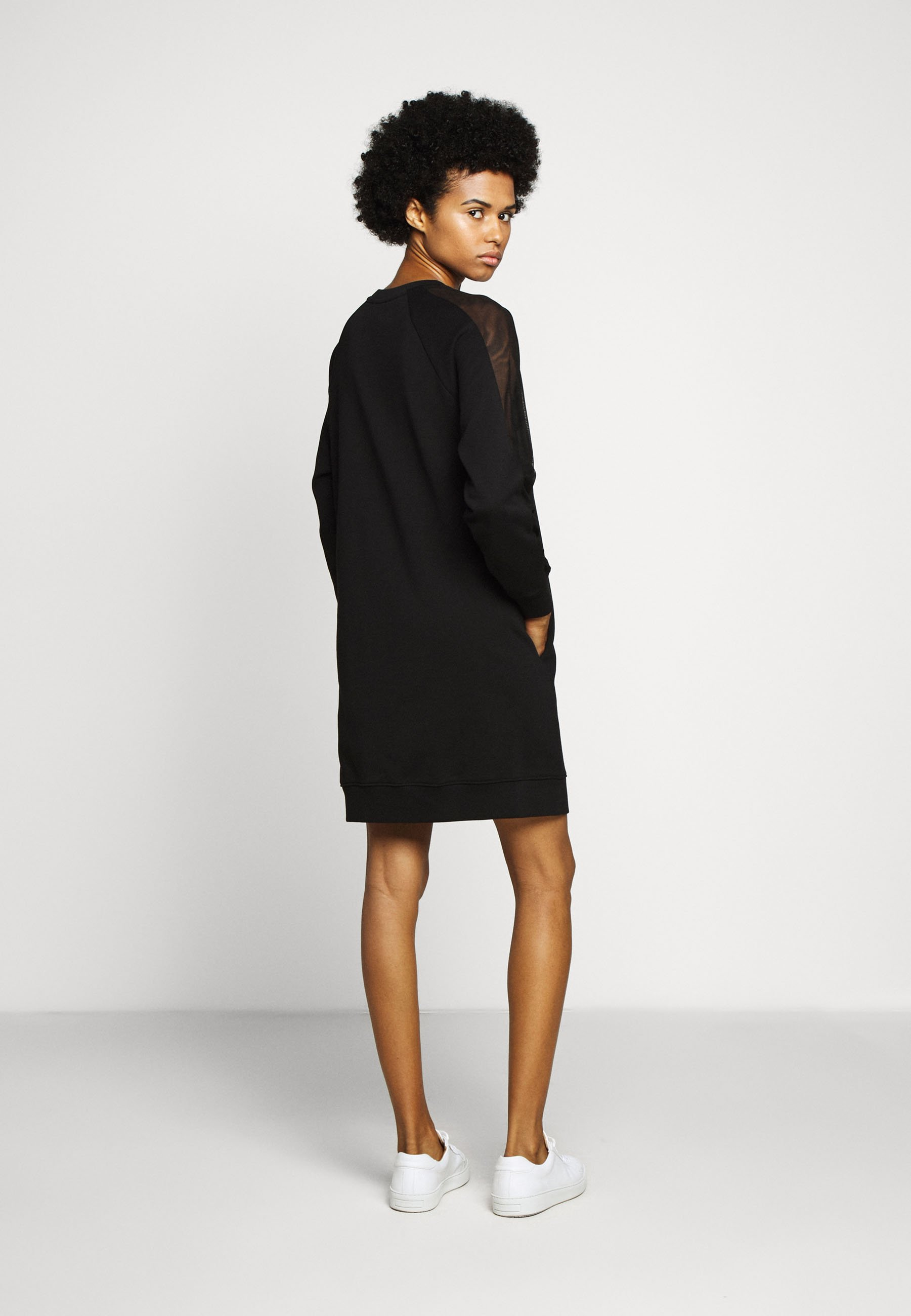 Discounts Women's Clothing KARL LAGERFELD DRESS Day dress black j7sQPahJ1
