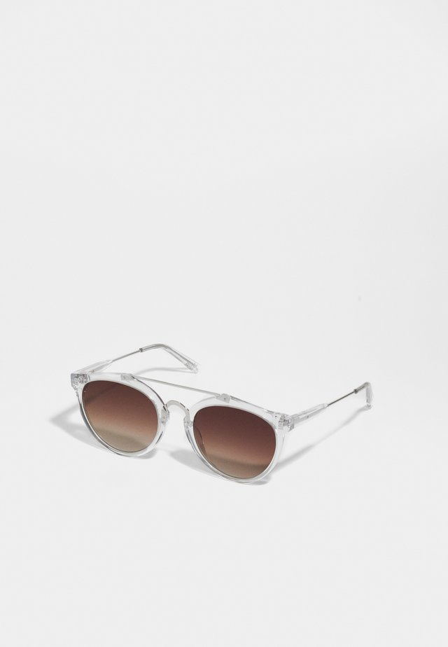 ÖRSTEN - Sunglasses - ice/brown