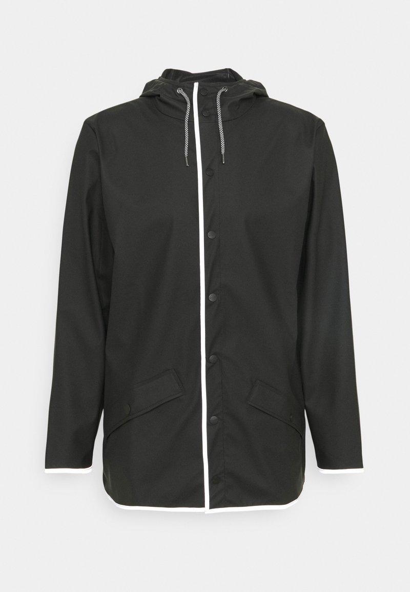 Rains - JACKET UNISEX - Waterproof jacket - black