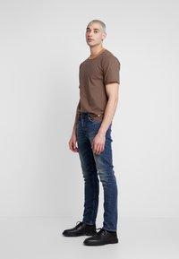 Nudie Jeans - LEAN DEAN - Slim fit -farkut - indigo shades - 3