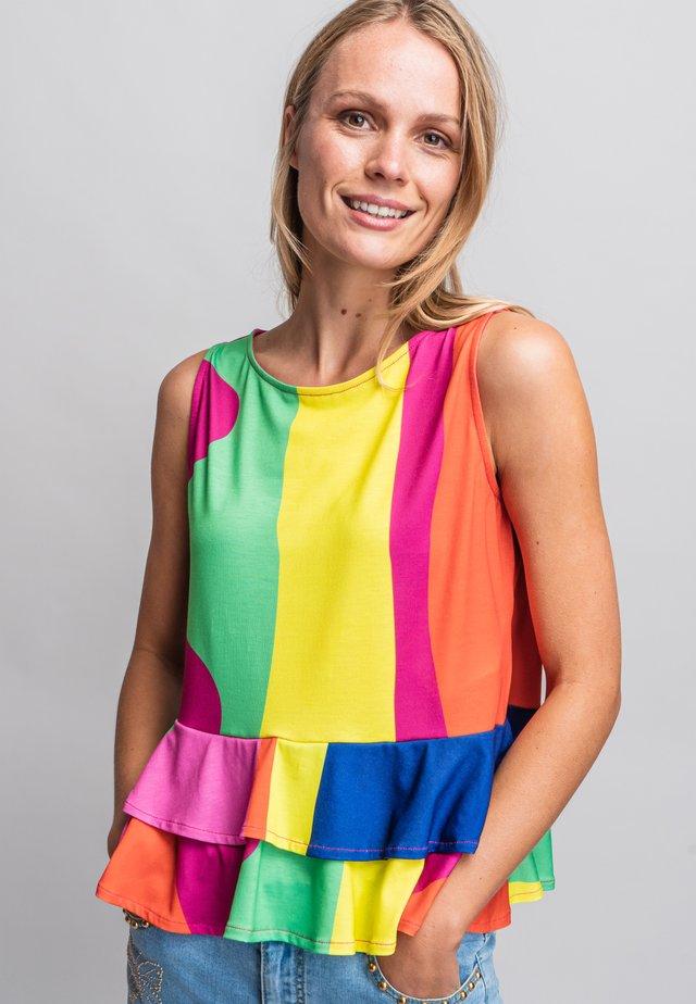 Blouse - multi-coloured