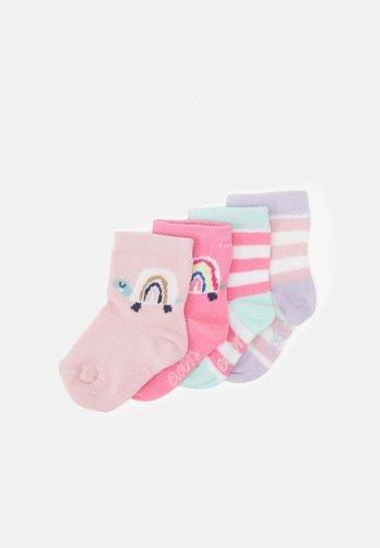 TURTLE 4 PACK - Socks - pink