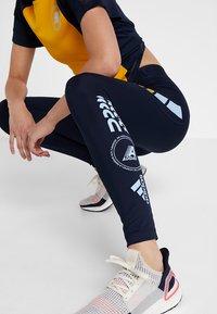 adidas Performance - ASK MOTO SPORT CLIMALITE ALPHASKIN LONG LEGGINGS - Tights - legend ink - 3