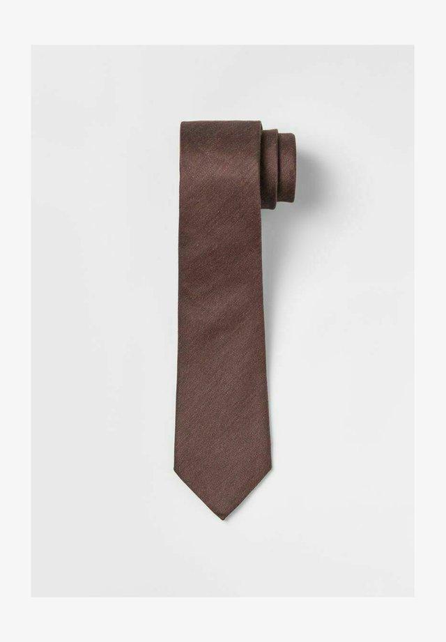 Cravate - rose coppar