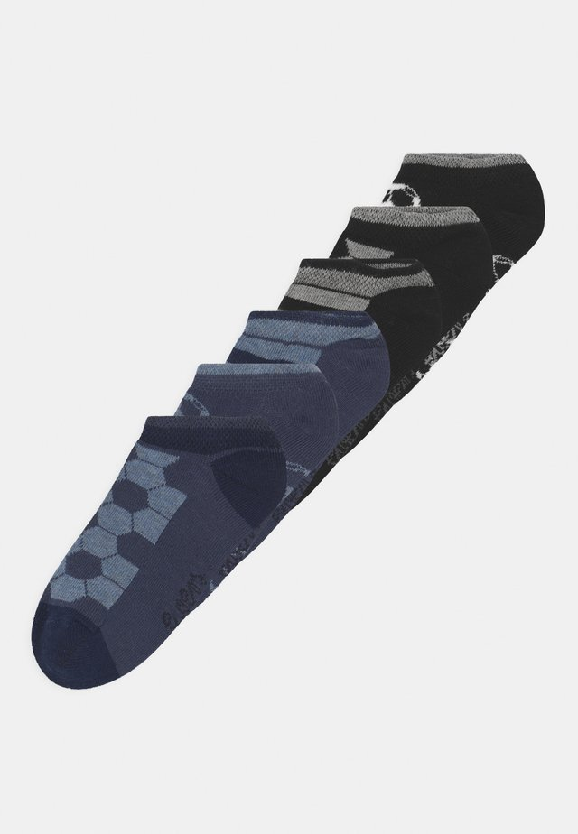 SNEAKERSOCKS SOCCER 6 PACK - Calcetines - blue/black