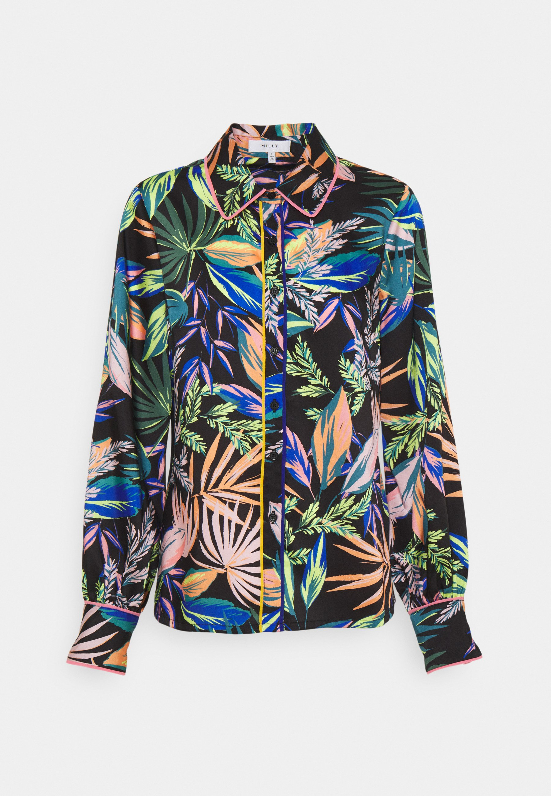 Women JULIETTE TROPICAL PALM  - Button-down blouse