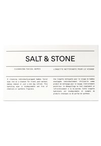 Salt & Stone - CLEANSING FACIAL WIPES - Gesichtsreinigung - - - 1