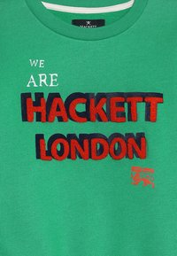 Hackett London - FLOCK LOGO - Sweatshirt - green - 4