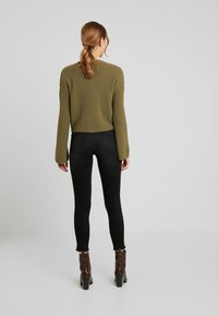 Object Petite - OBJCAMDEN CARDIGAN REPEAT - Cardigan - burnt olive - 2