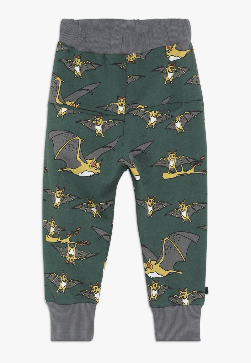 Småfolk - PANTS WITH BAT - Pantalon de survêtement - hunter green