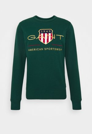 ARCHIVE SHIELD  - Sweatshirt - tartan green