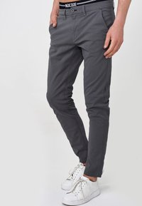 INDICODE JEANS - CREED - Chinos - black - 0